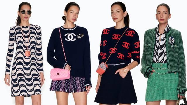 Chanel predlaže mini suknje, kratke haljine i vruće hlačice