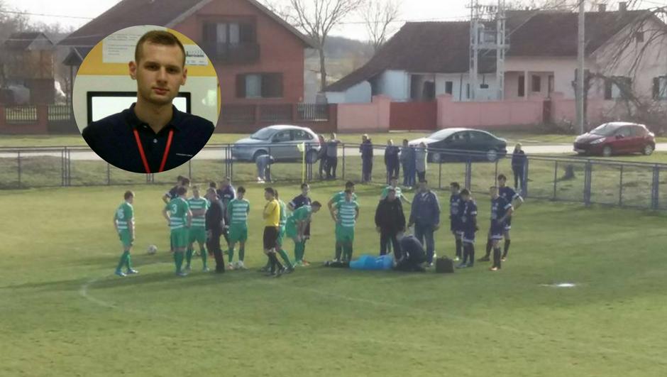 Drama u Slavoniji: Skočio kao Vrsaljko i spasio život golmanu