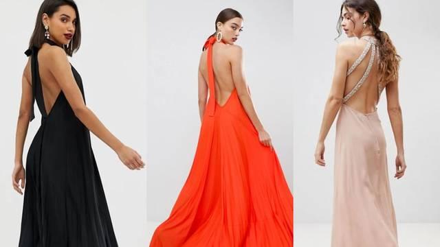 Proljetni trend: Lepršave haljine otvorenih leđa i fluidne linije