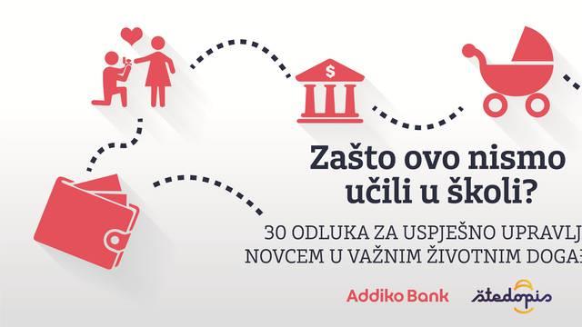 Pokrenut projekt Addiko banke i Štedopisa za financijsko obrazovanje građana