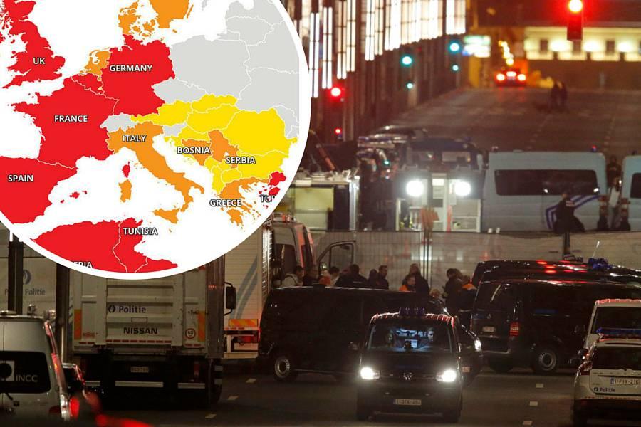 Teroristički napadi u Europi: Ove zemlje treba izbjegavati