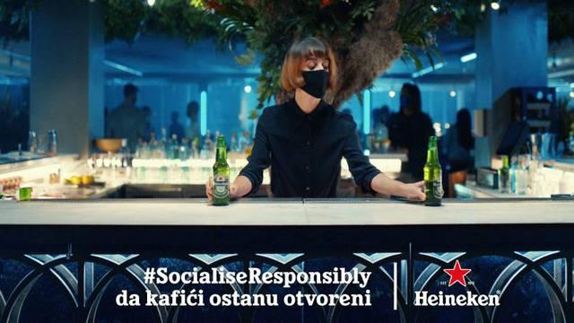 Odgovorno druženje uz Heineken® kako bi omiljeni kafići  ostali otvoreni