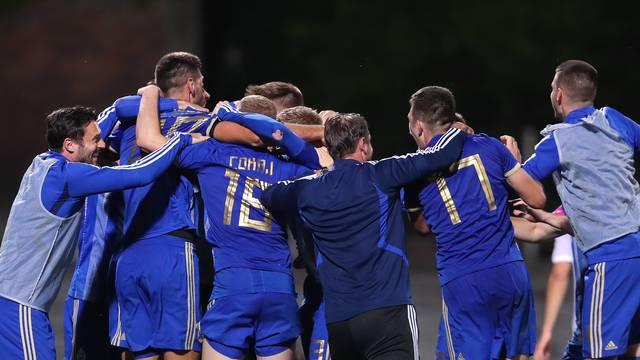 Nogometaši Lokomotive slave pobjedu nad Hajdukom