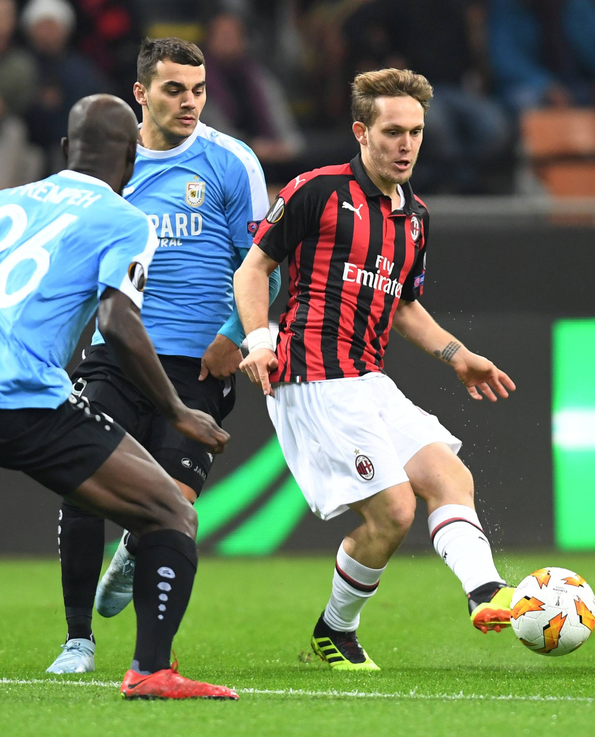 Europa League - Group Stage - Group F - AC Milan v F91 Dudelange