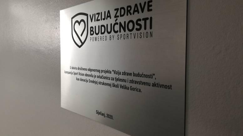 Sport Vision: donacija strukovnoj školi u Velikoj Gorici