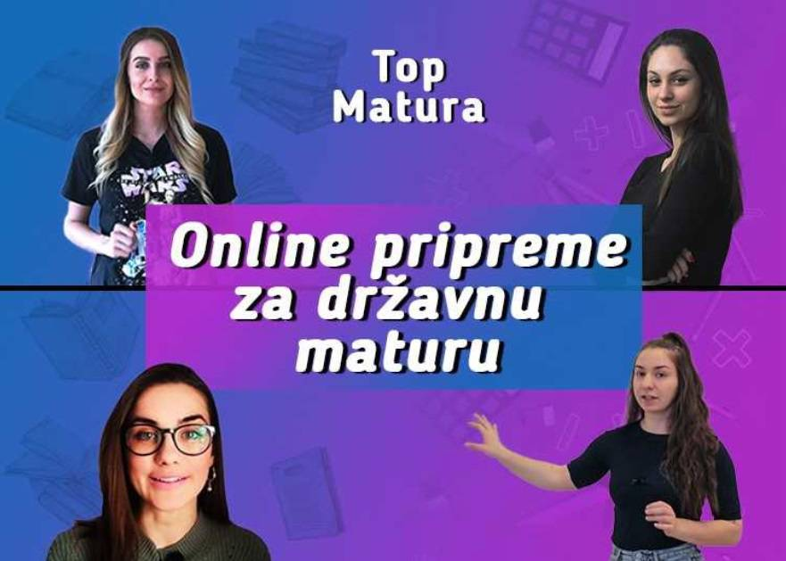 Top Matura: Studenti buduće kolege pripremaju za maturu