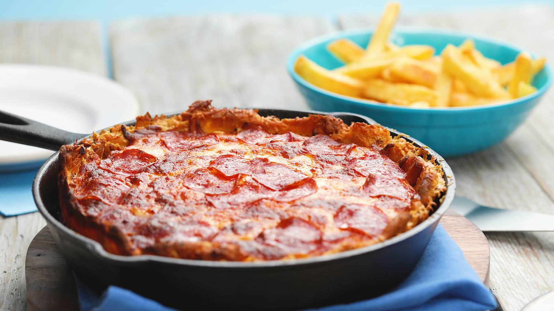 Ovakvu pizzu nikada niste jeli: Podloga nije tijesto već pomfrit
