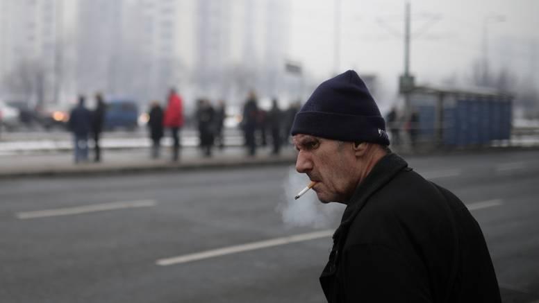 Sarajevo je najzagađeniji grad: Djeci i trudnicama nisu dali van