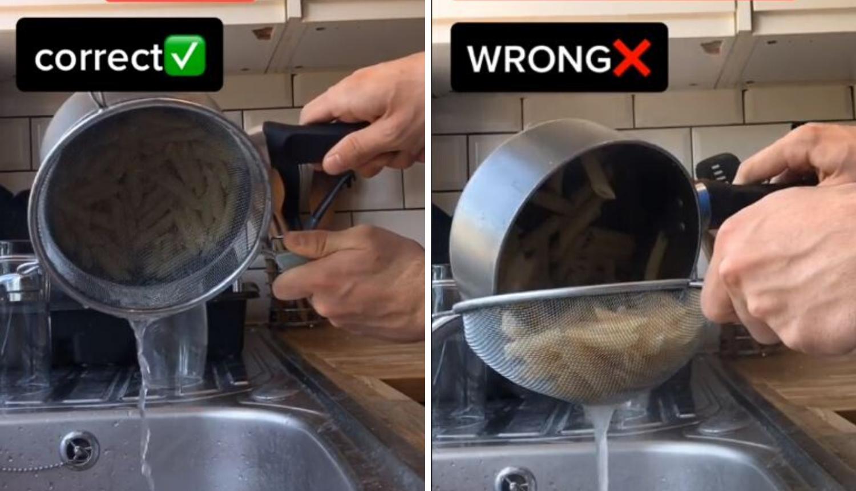 Korisnik TikToka iznenadio s trikom za cijeđenje tjestenine