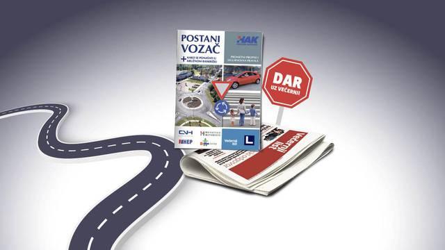 Ponovite prometna pravila uz knjižicu 'Postani vozač'!
