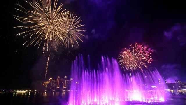 Otvorena najveća fontana na svijetu u Dubaiju na 7300 m2