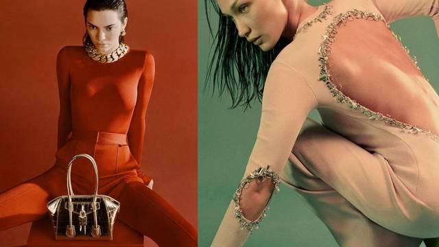Modeli Kendall i Bella zvijezde su proljetne Givenchy kampanje