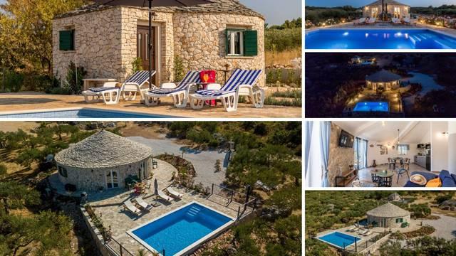 Brač ima prekrasne, okrugle kamene kuće za savršen odmor: Bunje u masliniku prava su oaza
