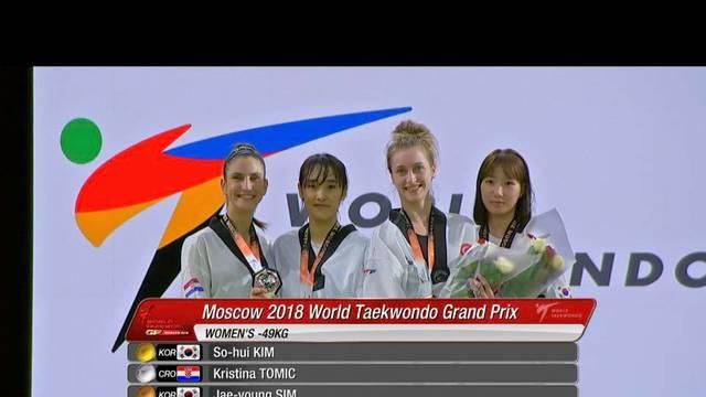 Berba medalja u Moskvi: Nakon zlata Jelić, dva srebra i bronca
