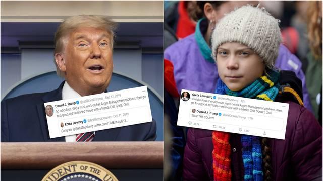 Greta se pokazala vrhunskim trolom: Sad ti 'oladi', Donalde!