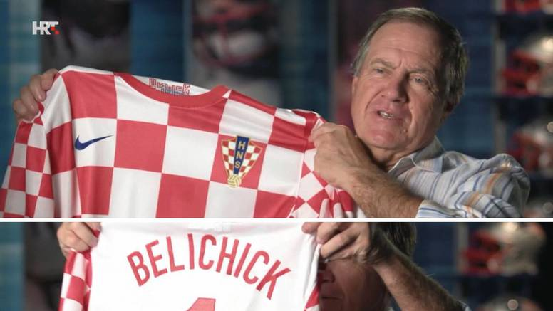 Belichick: Kad igra Hrvatska, izvučem ovaj dres i navijam...