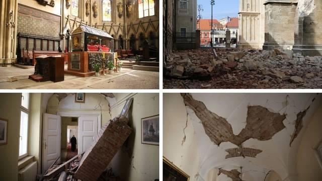 Biskupija objavila fotografije uništenja katedrale i dvora