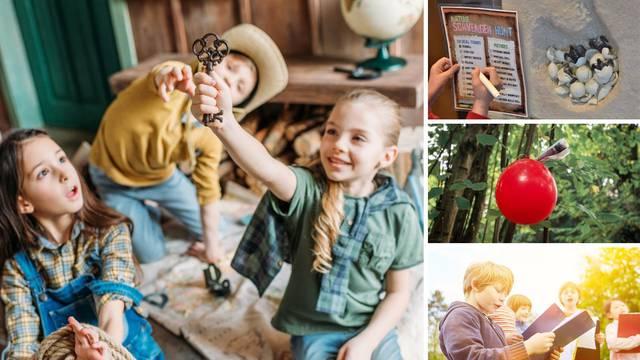 Jednostavna igra potrage koja će kod djece probuditi osjetila