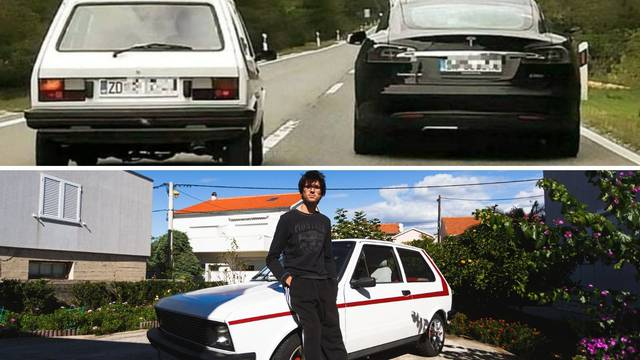 Iz našeg auta smo slikali fotku za povijest: Rekao sam ženi 'Pripremi fotić, sad će Yugo!'