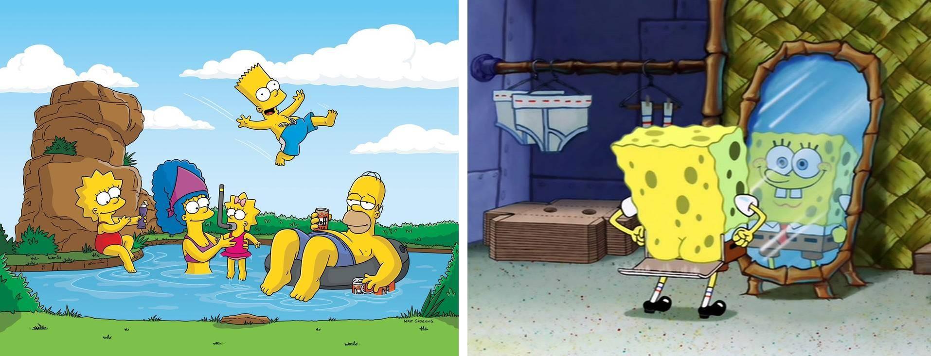 Simpsoni/Spužva Bob