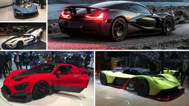 Top superautomobili iz Ženeve: Šokirali tehnologijom i snagom