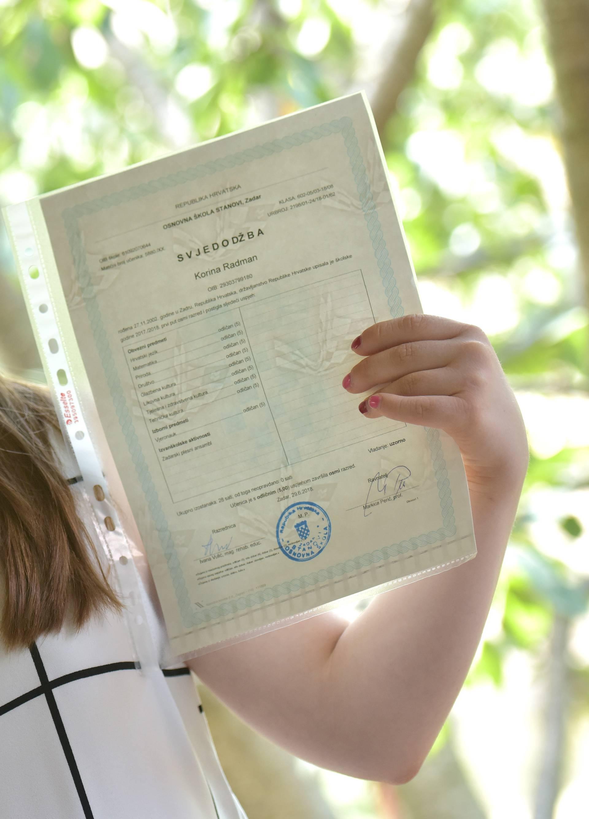 'Rekli su da neće moći ništa, a danas je upisala srednju školu!'