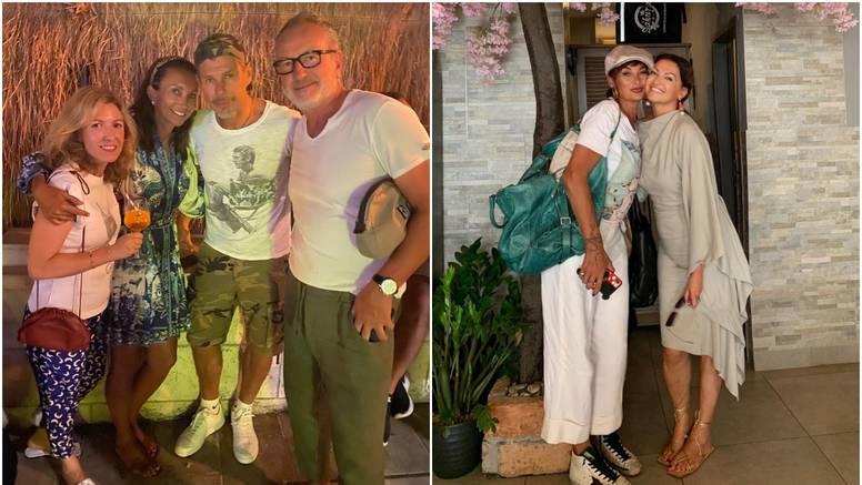 I dok Leonarda uživa u Zagrebu s Ninom Badrić, Boban se na Braču druži s tenisačicom Majoli