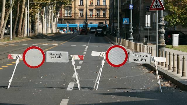 Zagreb: Radovi na rekonstrukciji tramvajske pruge u Ilici