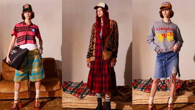 Nove Dsquared2 kombinacije: Važno je imati veliku šiltericu, glomazne čizme i grunge outfit