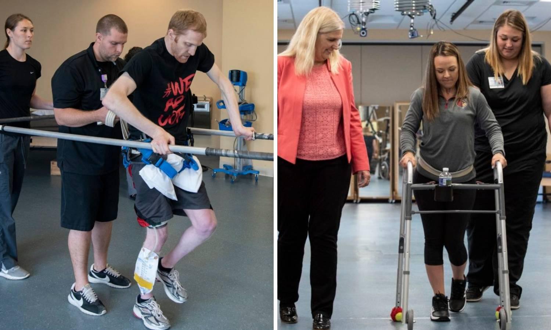 'Život mi se promijenio': Opet hodaju s elektrodama u leđima
