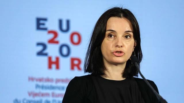 Zagreb: Ministrica Marija Vučković održala videokonferenciju s ministrima Europske unije