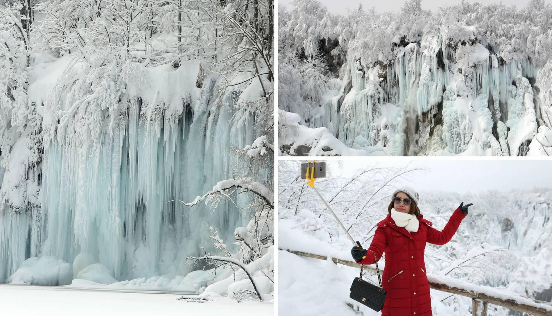 Spektakularni prizori: Zimska idila na Plitvičkim jezerima