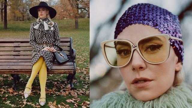 Vintage priča: Glumica Vanessa Kirby isprobala je Gucci u parku