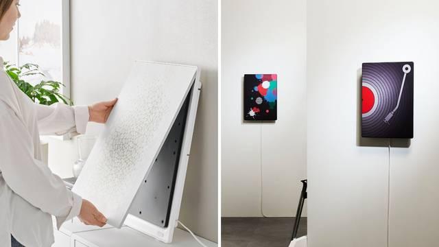 Glazba koju ćete htjeti gledati: Novi Ikea Symfonisk zvučnik možete objesiti kao sliku na zid