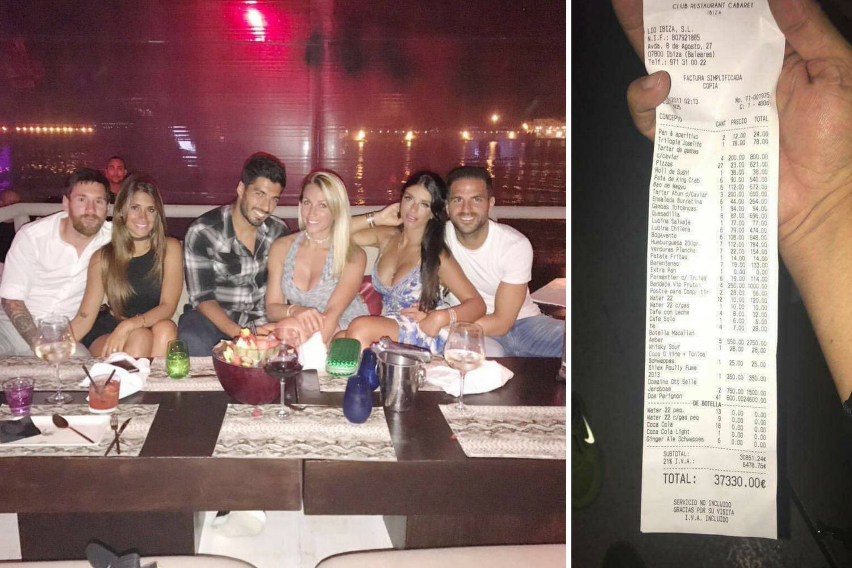 Kako u restoranu nabiti račun od 37.330 eura? Pitaj Messija