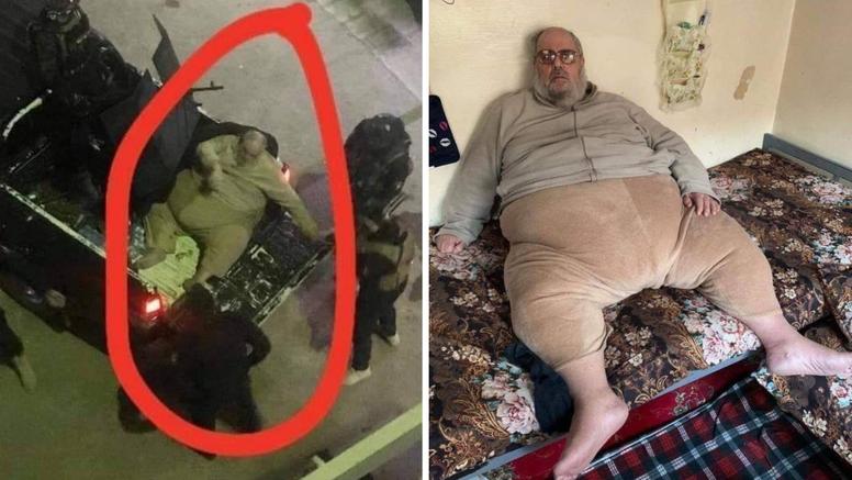 Uhitili pretilog muftiju ISIL-a, jedva su ga iznijeli  iz stana...