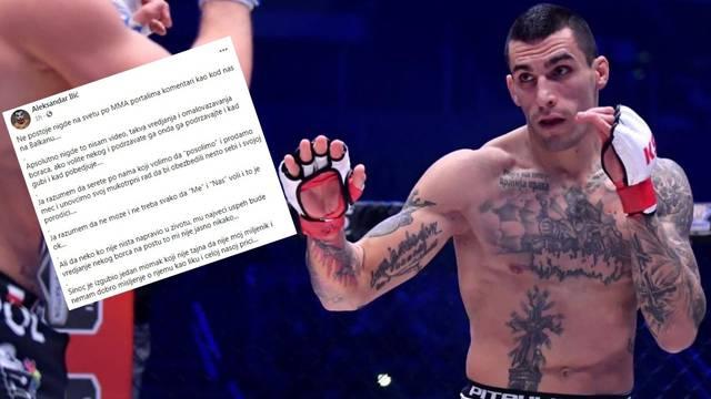 Srpski borac 'oprao' fanove: Vi se**te, a ništa u životu niste napravili. Tog ima samo kod nas