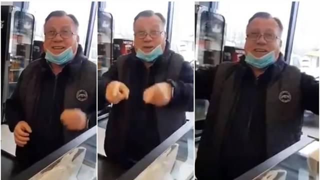 VIDEO Halid ušetao u pekaru i zapjevao kad u kafani ne može