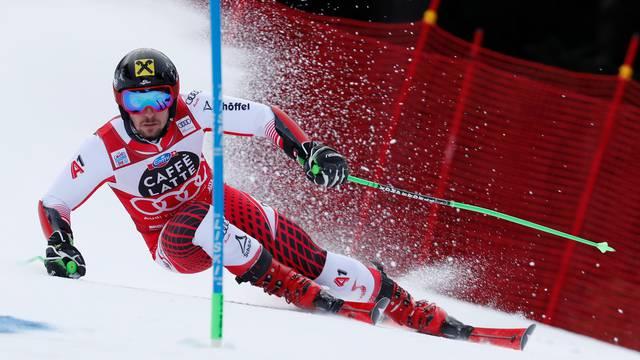 Alpine Skiing World Cup - Men's Giant Slalom