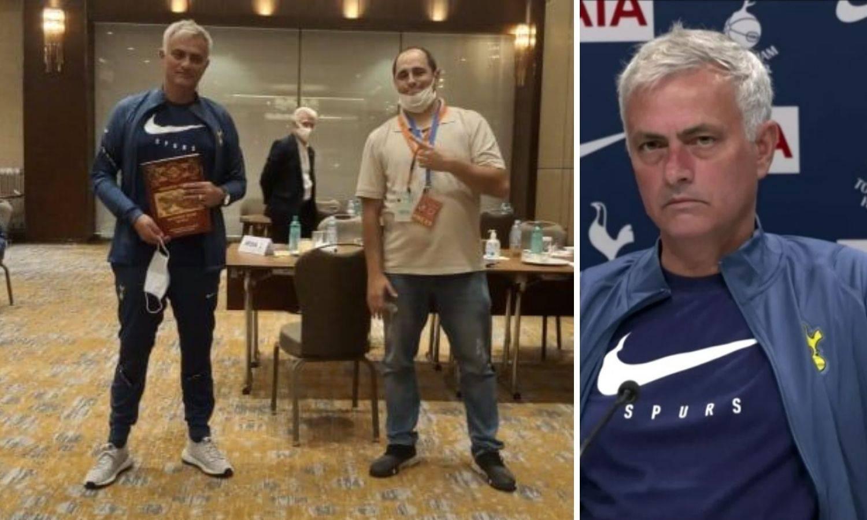 Makedonski novinar dirnuo je Joséa: 'To je za pokojnog tatu'
