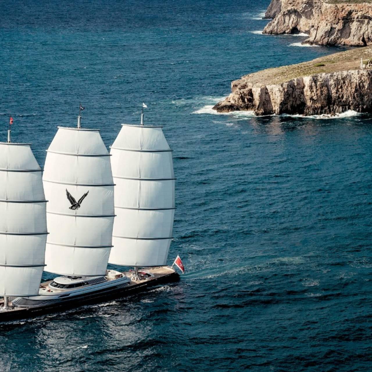 Malteški sokol plovi Jadranom: Prodaje se za milijardu kuna...