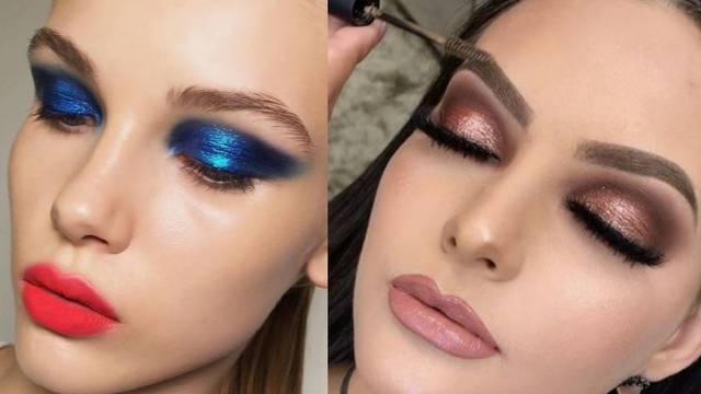 Futuristički make-up: Metalik sjenilo u 10 moćnih varijanti