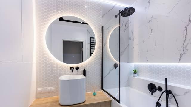 Trik dizajnera interijera kako da malena kupaonica izgleda veće