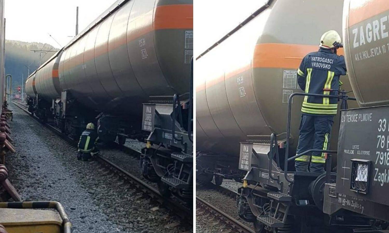 U Moravicama je curio plin iz vagona, intervenirali vatrogasci