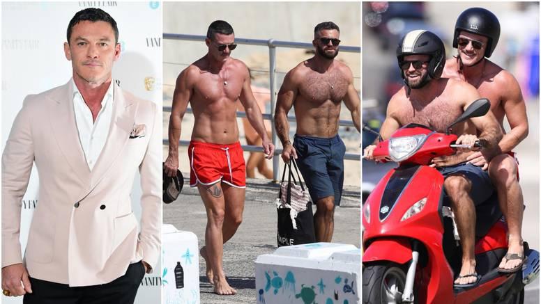 Glumca 'uhvatili' s misterioznim frajerom na plaži: Mamili su uzdahe isklesanim tijelom...