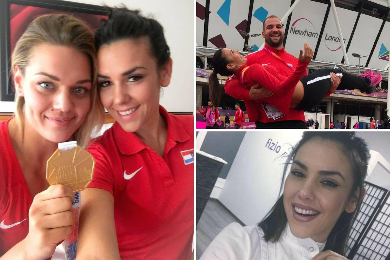 S medaljom oko vrata Jelena masira atletičare do 3 ujutro...