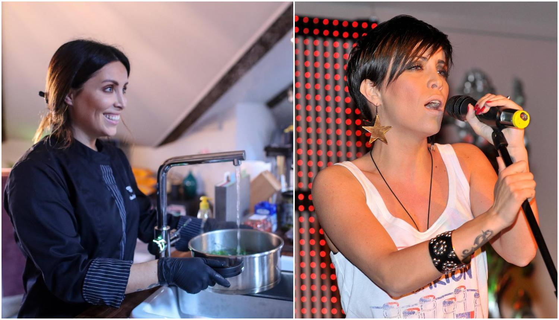 Zagrijava glasnice: Kuharica Lana opet se prima mikrofona?