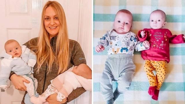 'Zatrudnjela sam dok sam bila trudna tri tjedna, rodili su se isti dan i smatraju se blizancima'