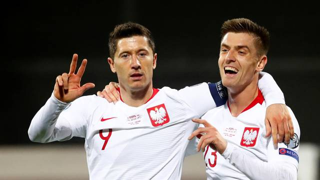 Euro 2020 Qualifier - Group G - Latvia v Poland