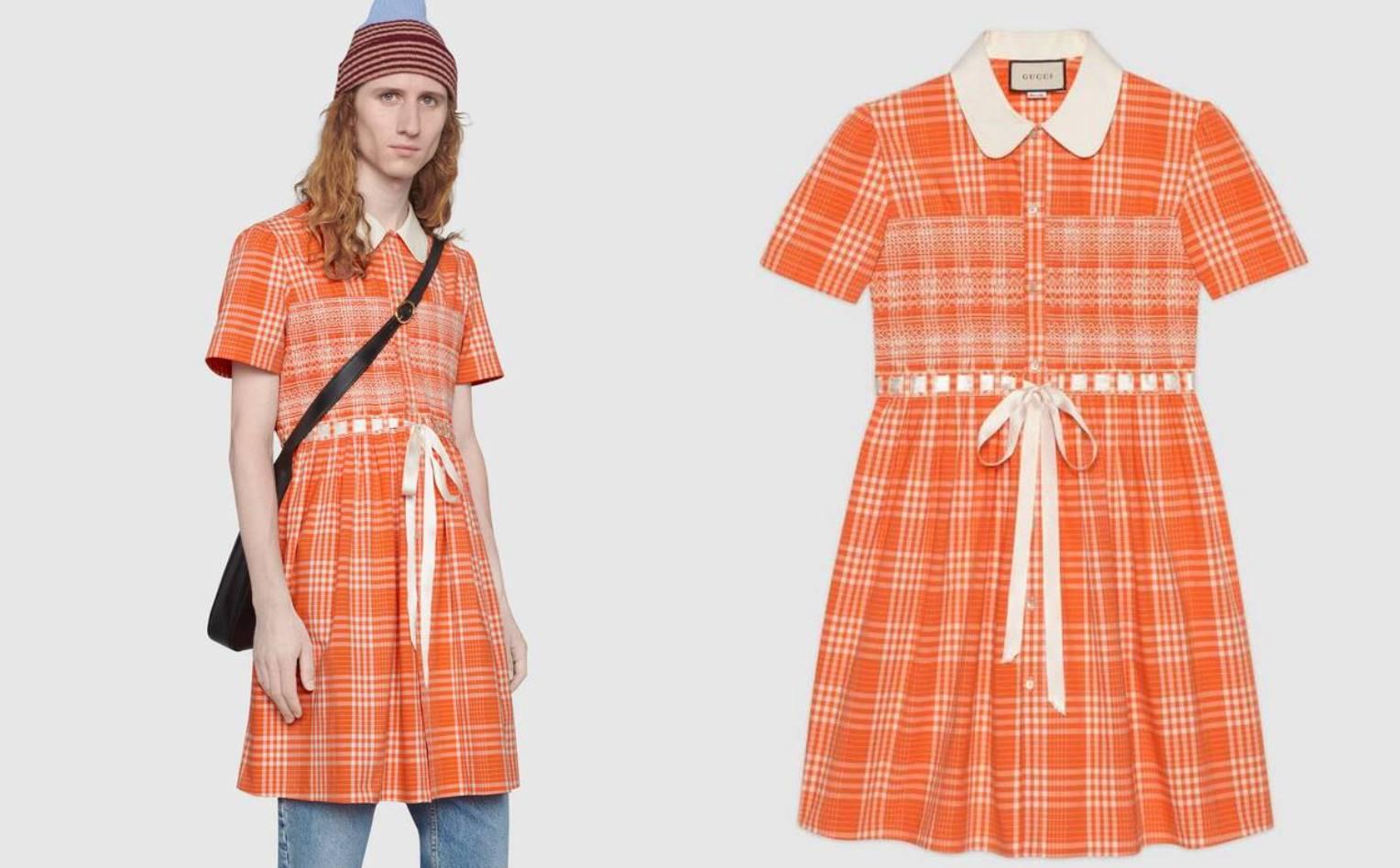Gucci prodaje mušku haljinu sa satenskom trakom za 14.000 kn
